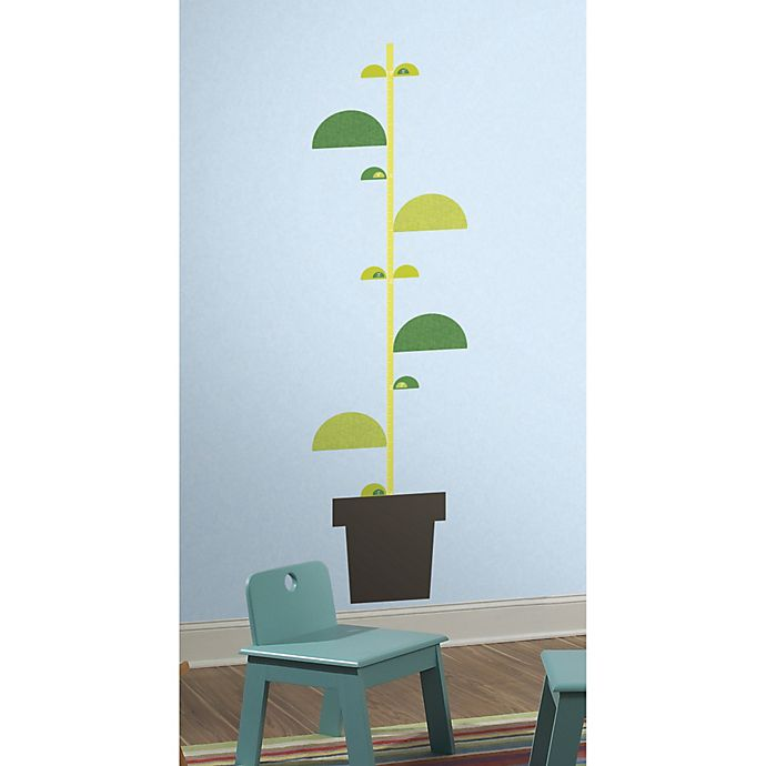roommates one décor book stalk growth chart wall decals | bed bath