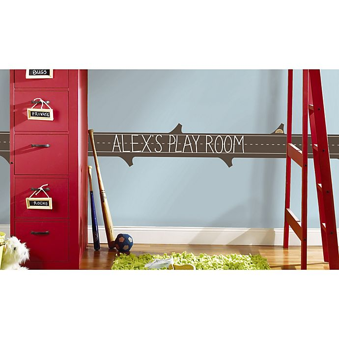 Alternate image 1 for RoomMates ONE Décor Learning Log Chalkboard Wall Decals