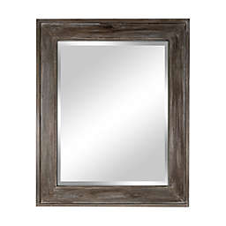 Bee & Willow™ Home 33.5-Inch x 45.5-Inch Reclaimed Wood Wall Mirror in Driftwood