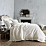 Part of the Wamsutta® Vintage Blythe Jacquard Ogee Waffle Textured Bedding Collection in White