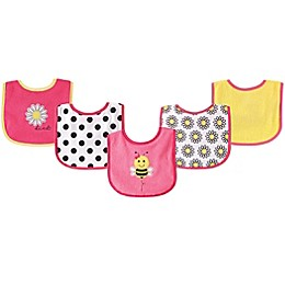 Luvable Friends® 5-Pack Drooler Bibs