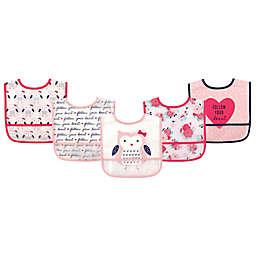 Hudson Baby® 5-Pack Waterproof Bibs