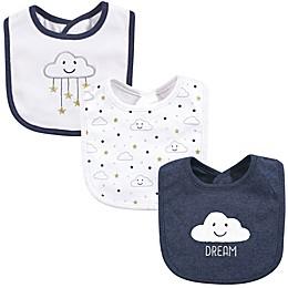 Hudson Baby® 3-Pack Dream Cloud Burp Cloths