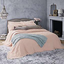 Wamsutta® Vintage Lyon King Coverlet in Soft Pink