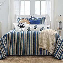 Bee & Willow™ Home with Lauren Liess Indigo Bars Stripe 3-Piece Quilt Set