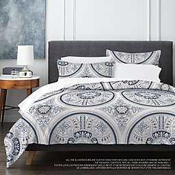 Springs Home Mandala 3-Piece Duvet Cover Set