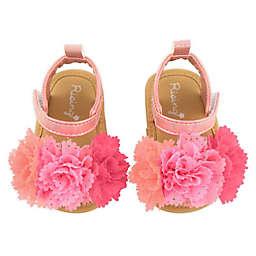 Rising Star® Size 0-3M Flower Sandal in Pink
