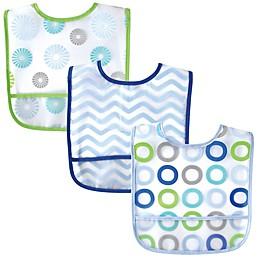 Luvable Friends® 3-Pack Waterproof Bibs