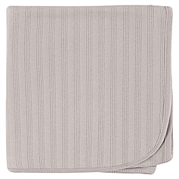 Touched by Nature Organic Cotton Swaddle Blanket in Grey