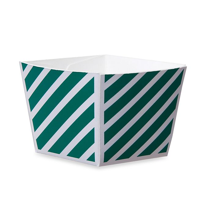 Alternate image 1 for Cube Paper  Baking Cups in Green (Set of 12)