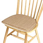 Klear Vu Essentials Bahama Gripper® Chair Pad in Wheat