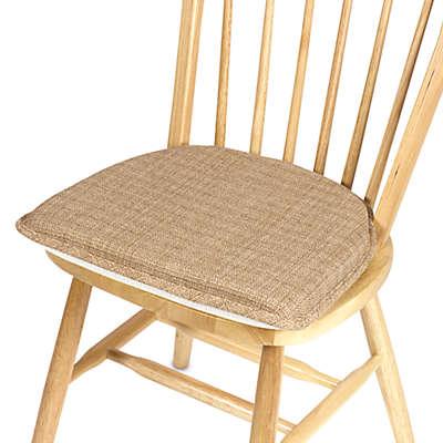 Klear Vu Essentials Bahama Gripper® Chair Pad in Wheat