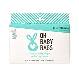 Oh Baby Bags Diaper Disposal Bag/dispenser in Seafoam