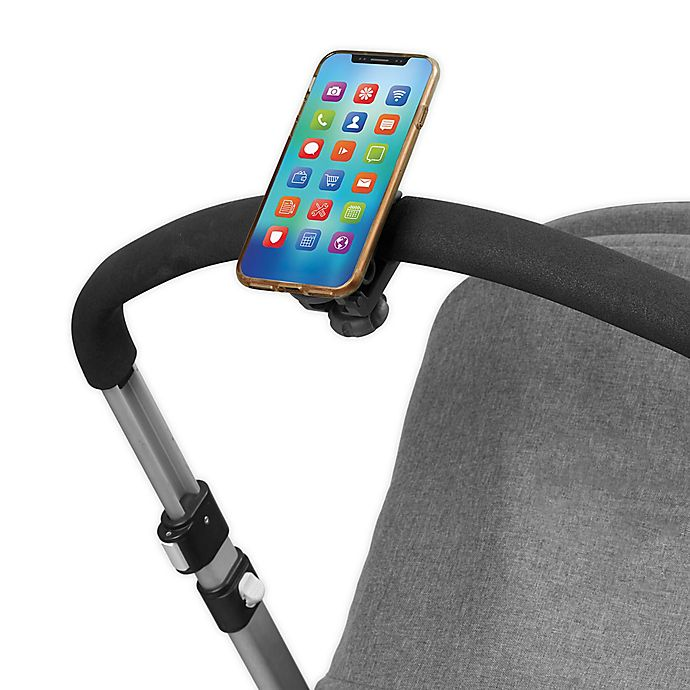 Alternate image 1 for SKIP*HOP® Stroll & Connect Universal Stroller Phone Mount in Black