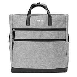 SKIP*HOP® Trio Convertible Diaper Backpack in Heather Grey