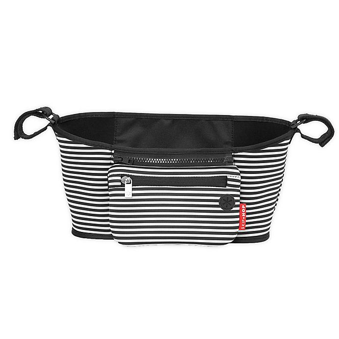 Alternate image 1 for SKIP*HOP® Grab & Go Stroller Organizer in Black/White