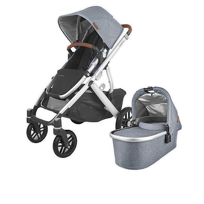 Alternate image 1 for UPPAbaby® VISTA V2 Stroller in Gregory Blue Melange