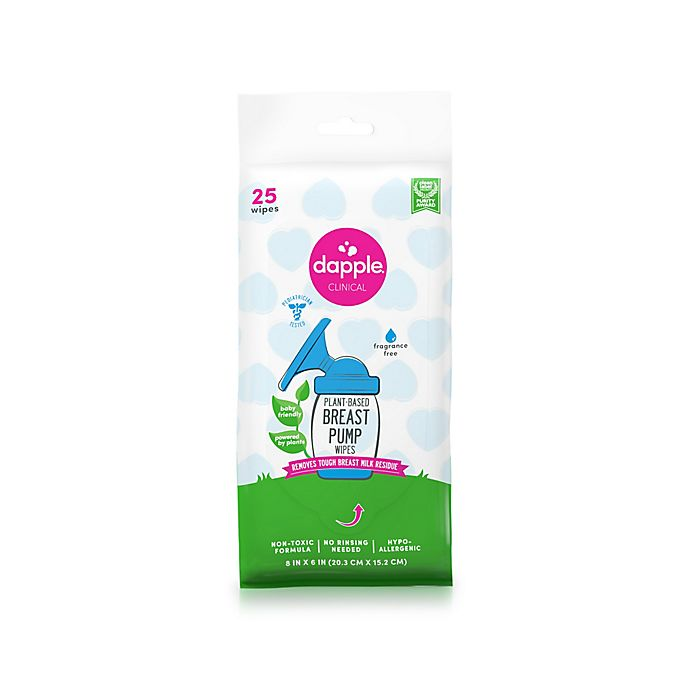 Alternate image 1 for Dapple® Plant-Based Breast Pump Wipes, 25 ct