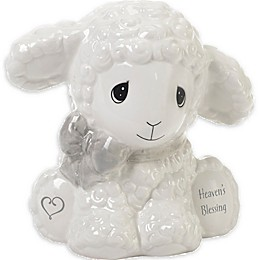 Precious Moments™ Heaven's Blessing Lamb Bank in White