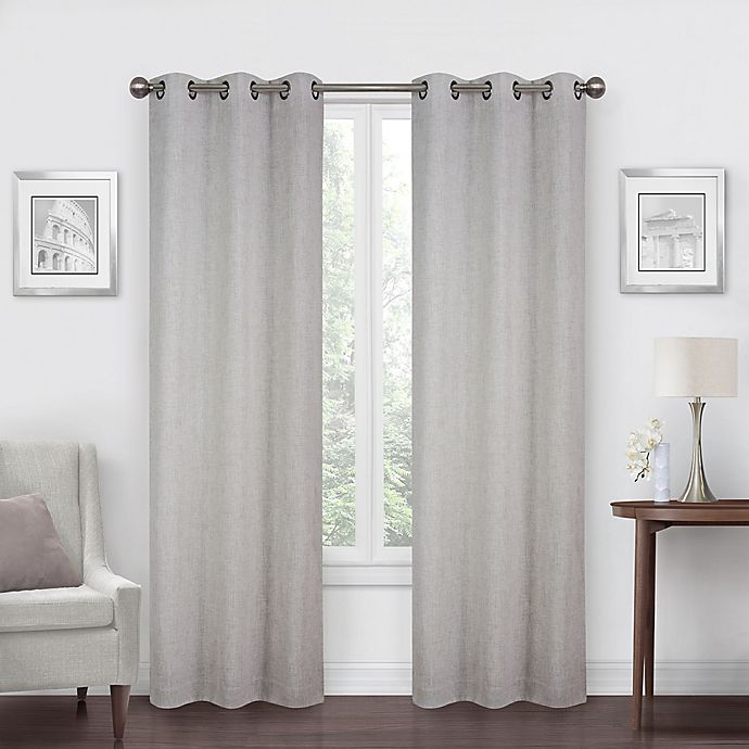 Alternate image 1 for SALT™ Robinson 2-Pack 108-Inch Grommet Blackout Window Curtain Panels in Beige