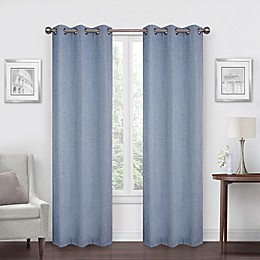 SALT™ Robinson 2-Pack Grommet 100% Blackout Window Curtain Panels
