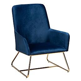 Baxton Studio™ Amia Velvet Armchair
