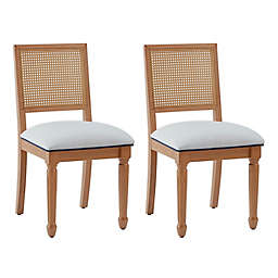 One Kings Lane Open House™ Jasmine Cane Dining Chairs (Set of 2)