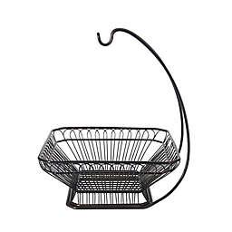 Gourmet Basics By Mikasa® Steel Fruit Basket in Black
