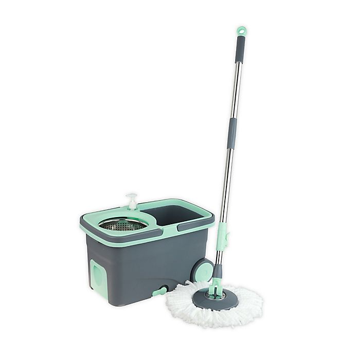Alternate image 1 for Casabella® Spin Cycle Mop™ in Mint