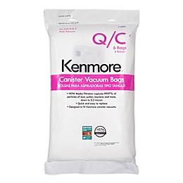 Kenmore 6-pack Canister Type-Q/C HEPA Cloth Vacuum Bags
