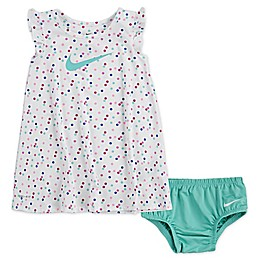 Nike® Dot Dri-FIT Flutter Sleeve Dress