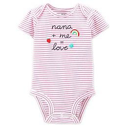 carter's® Nana Short Sleeve Bodysuit