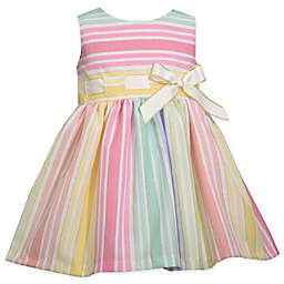Bonnie Baby Rainbow Stripe Dress