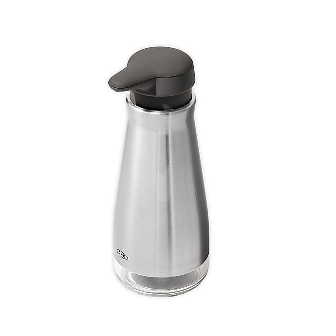 Alternate image 1 for OXO® Good Grips Stainless Steel Soap Dispenser