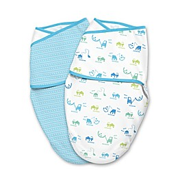 SwaddleMe® Small 2-Pack Building Blocks Luxe Whisper Quiet™ Swaddles