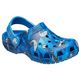 Crocs™ Classic Shark Kids' Clog