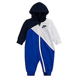 Nike® Amplify Hooded Coverall in Blue