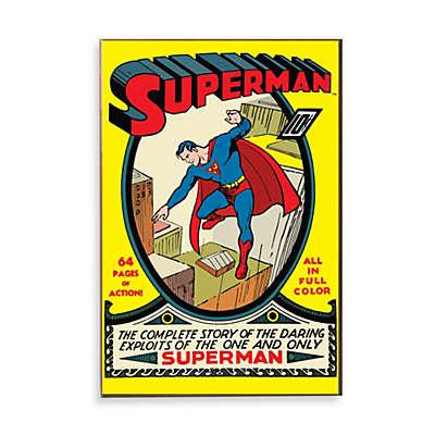 "Superman ""Complete Story"" Wall Décor Plaque"