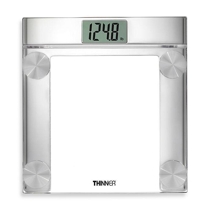Digital Bathroom Scales For Sale: Conair® THINNER® Digital Precision Chrome And Glass