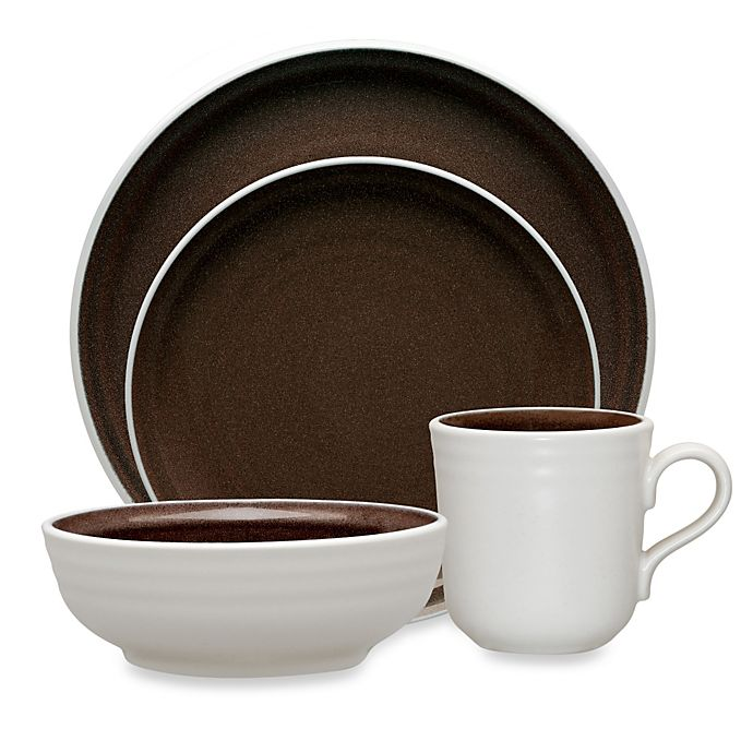 Alternate image 1 for Noritake® Colorvara Dinnerware Collection in Chocolate