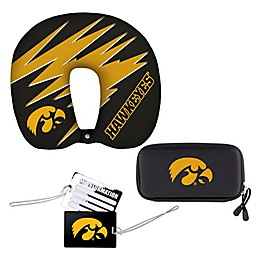 University of Iowa 4-Piece Travel Set