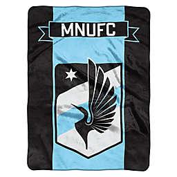 MLS Minnesota United Goal Keeper Raschel Throw Blank