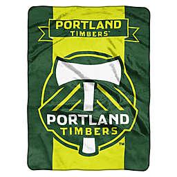MLS Portland Timbers Goal Keeper Raschel Throw Blank