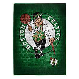 NBA Boston Celtics Street Raschel Throw Blanket