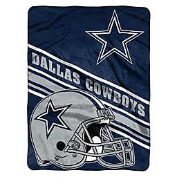 NFL Dallas Cowboys 60-Inch x 80-Inch Slant Raschel Throw Blanket