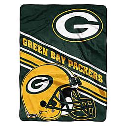 NFL Greem Bay Packers 60-Inch x 80-Inch Slant Raschel Throw Blanket