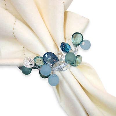 Coastal Sparkle Napkin Ring