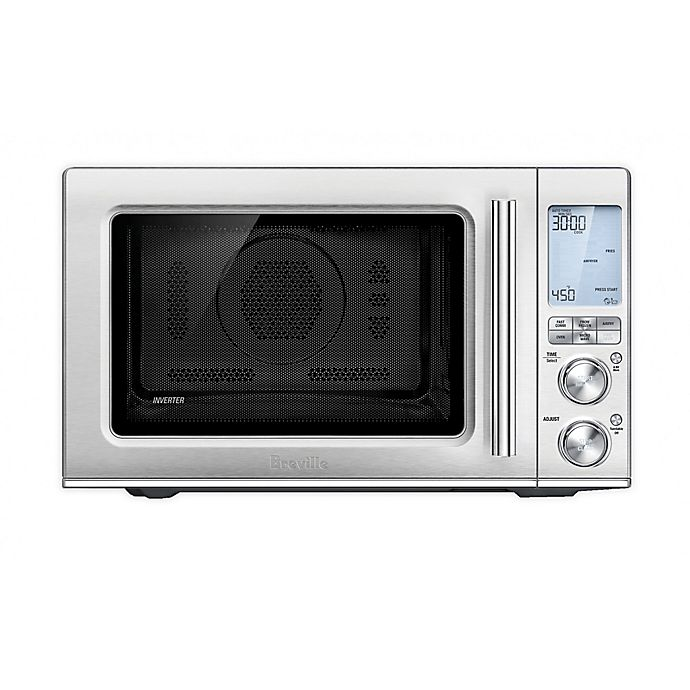 Alternate image 1 for Breville® 1.1 cu. ft. The Combi Wave™ 3-in-1 Countertop Microwave Oven