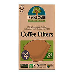 If You Care 100-Count FSC Certified No. 4 Basket Coffee Filters
