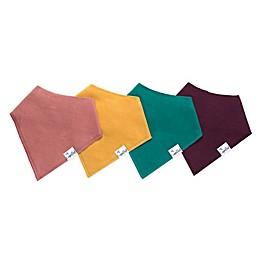Copper Pearl 4-Pack Jade Bandana Bibs